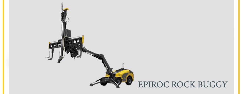 EPIROC ROCK BUGGY