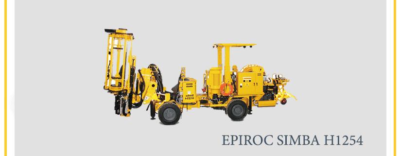 EPIROC SIMBA H1254