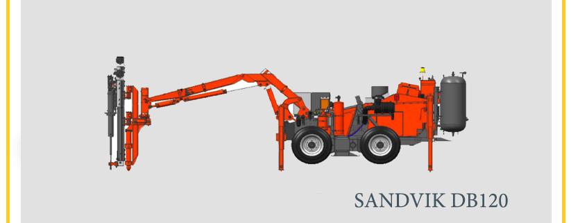 SANDVIK DB120