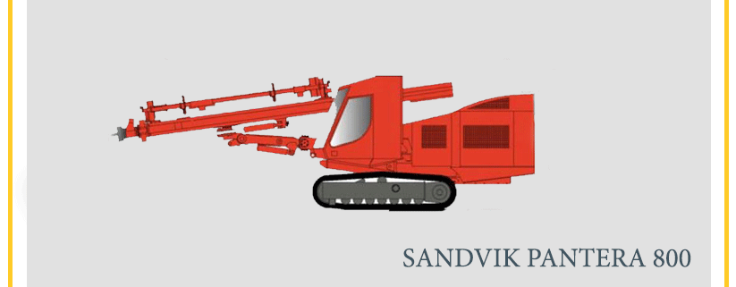 SANDVIK PANTERA 800
