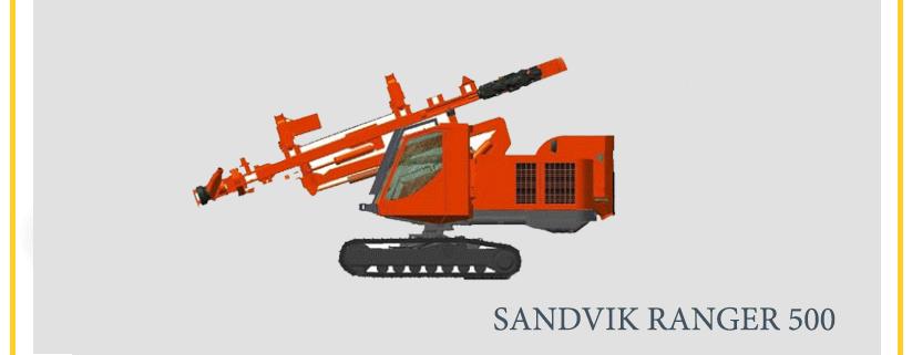 SANDVIK RANGER 500