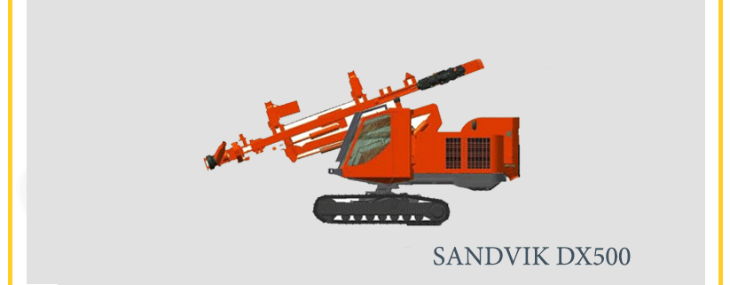 SANDVIK DX500