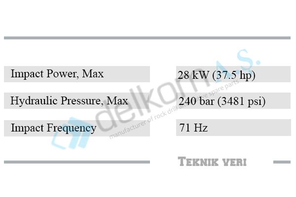 2540ex+-teknik